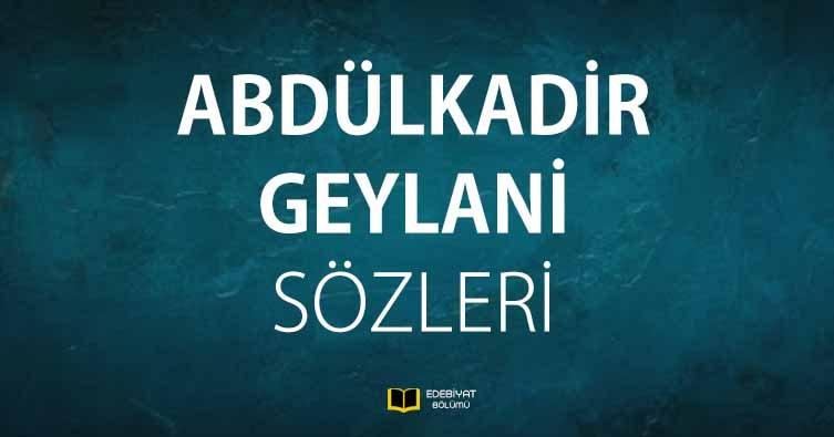 Abdülkadir-Geylani-Sözleri