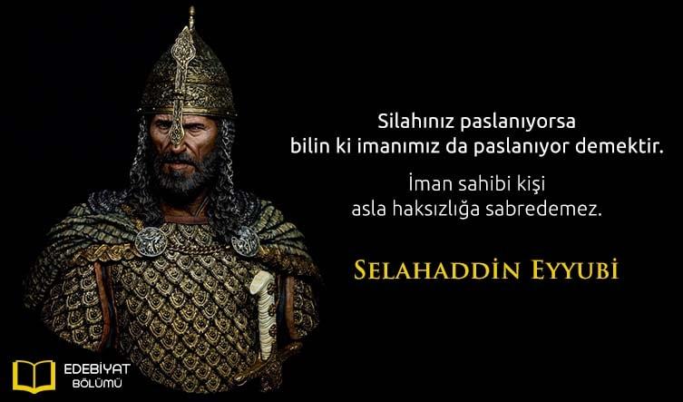 Kudüs-Fatihi-Selahaddin-Eyyubi-Sözleri