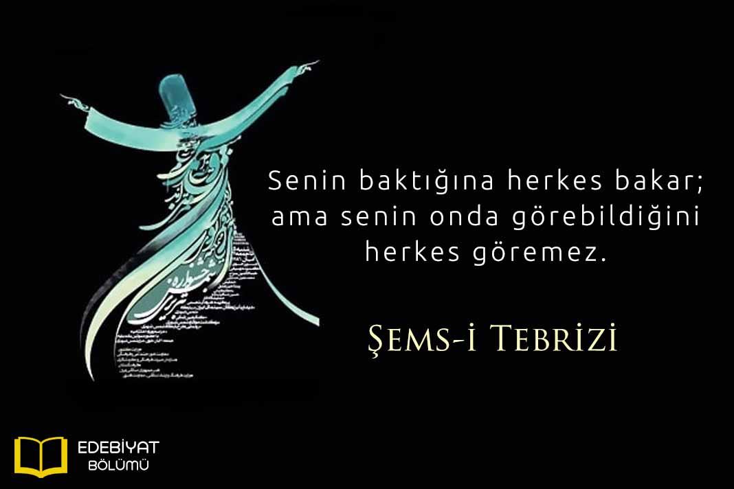 Şemsi-Tebrizi-Sözleri