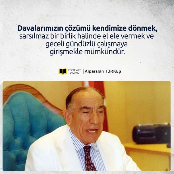 Başbuğ-Türkeş-Dava-Sözleri