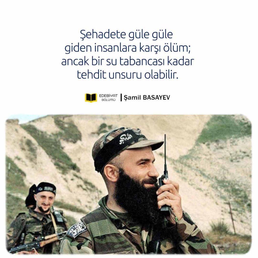 Şamil-Basayev-Şehadet-Sözleri
