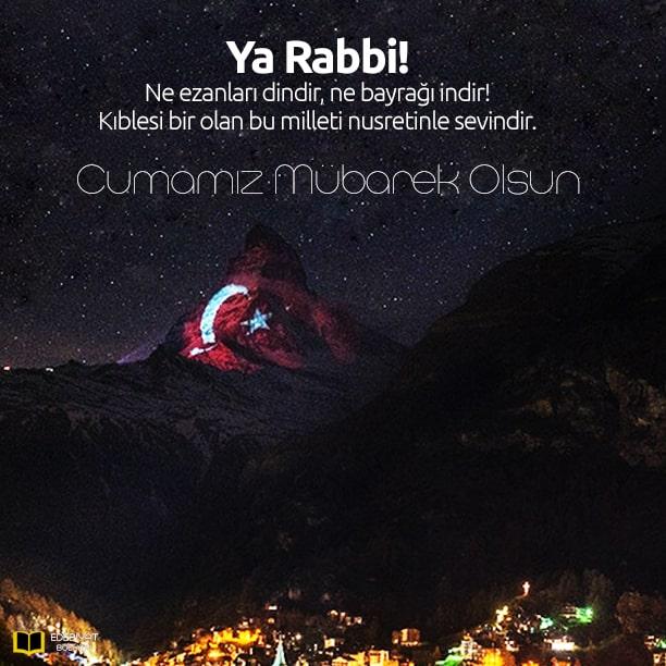 Türk-Bayraklı-Cuma-Mesajı-ve-Dualı-Mesajlar
