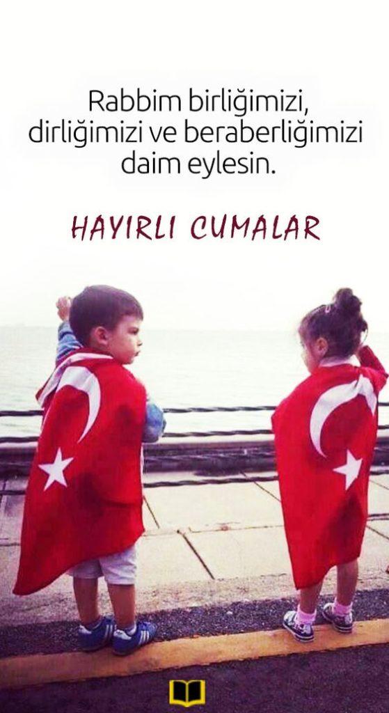 Türk-Bayraklı-Cuma-Mesajları-Birlik-Beraberlik