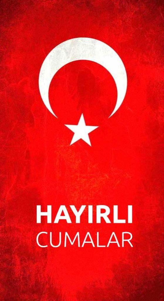 Türk-Bayraklı-Hayırlı-Cumalar-Mesajları