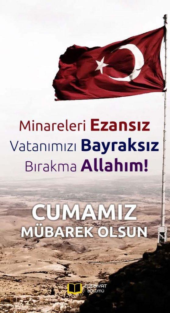 Türk-Bayraklı-Resimli-Hayırlı-Cumalar-Mesajları