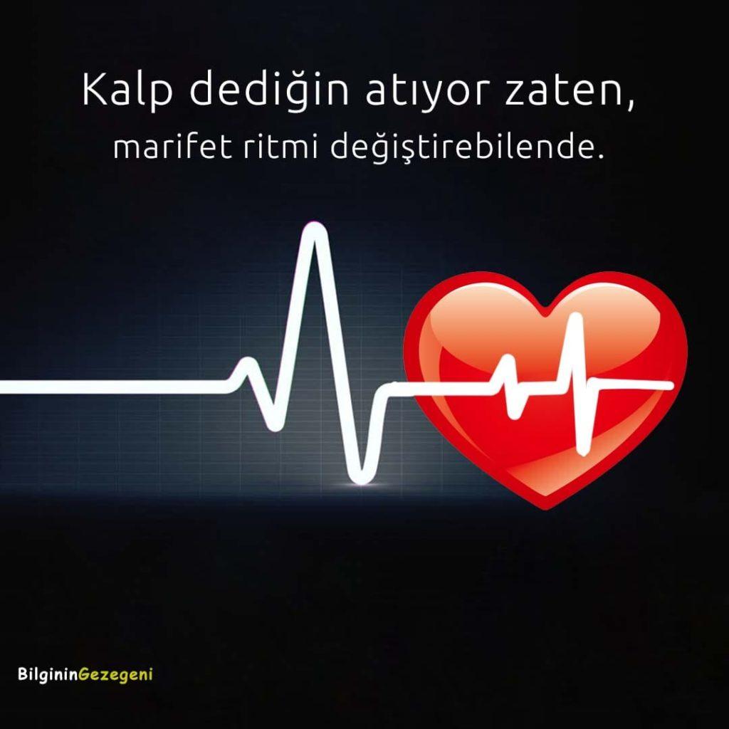 Aşk Sözleri Kalpli