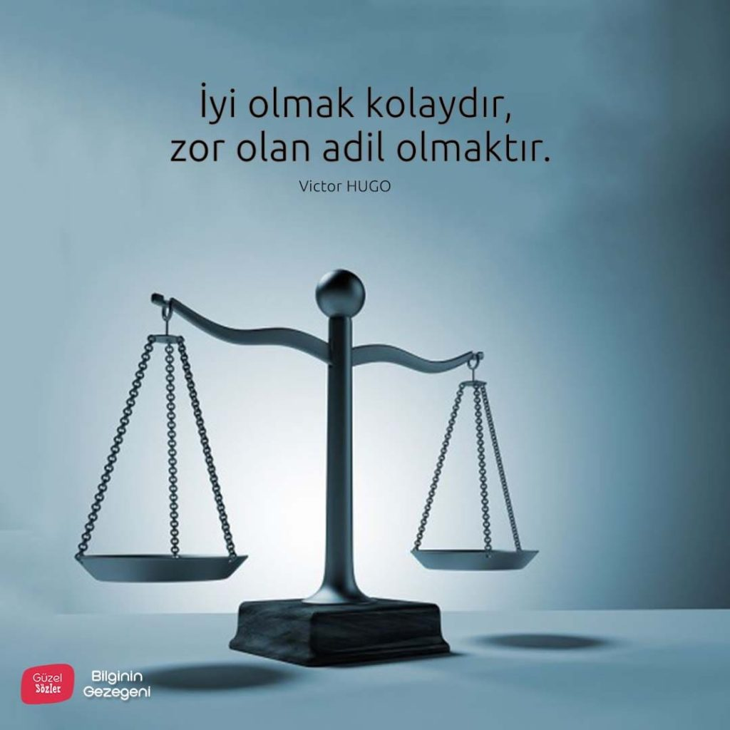 Adalet Sözleri Resimli