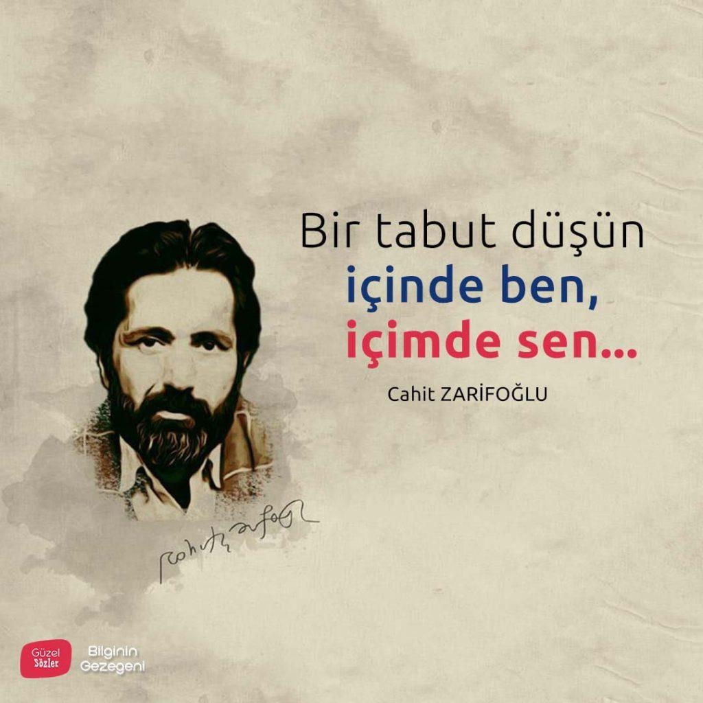 Cahit Zarifoğlu Resimlis Aşk Sözleri