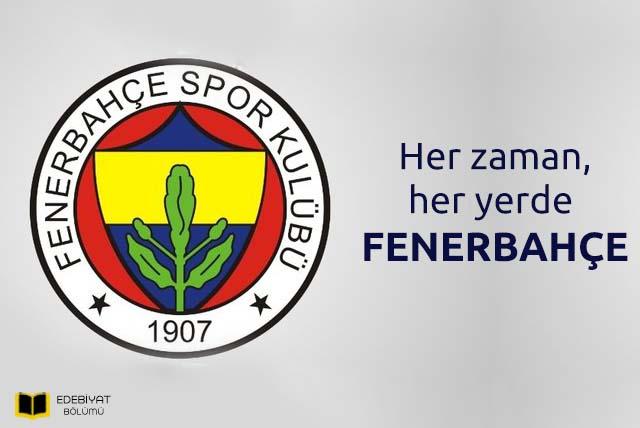 Fenerbahçe-Sözleri