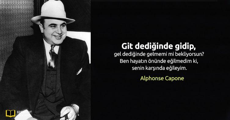 Alphonse-Capone-Sözleri